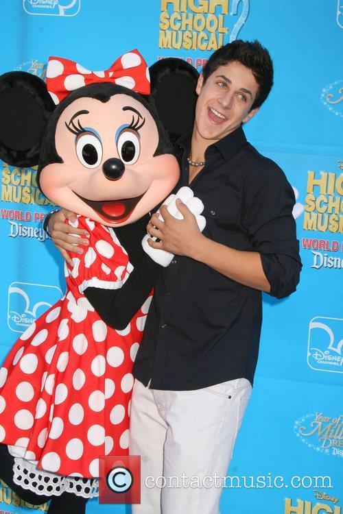 David Henrie Disney's 'High School Musical 2' World...