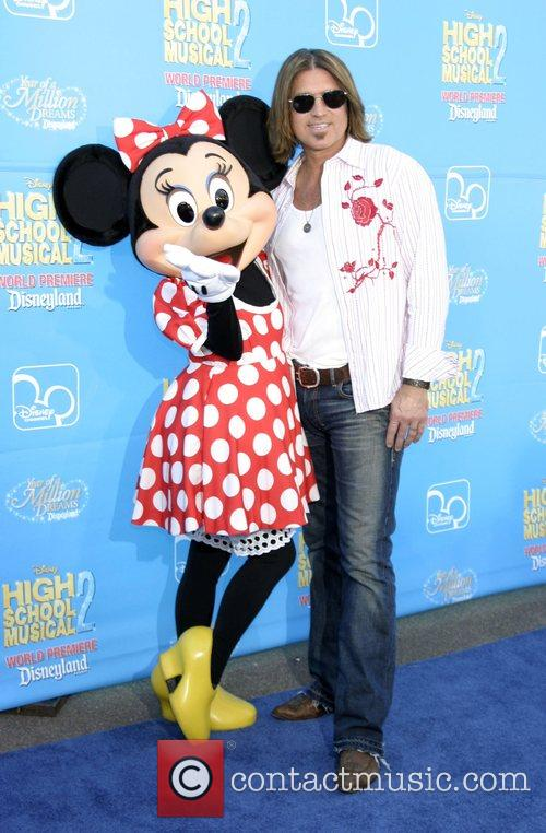 Billy Ray Cyrus and Minnie Mouse