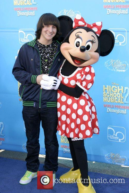 Mitchel Musso and Minnie Mouse