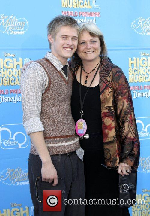 Lucas Grabeel and Mother