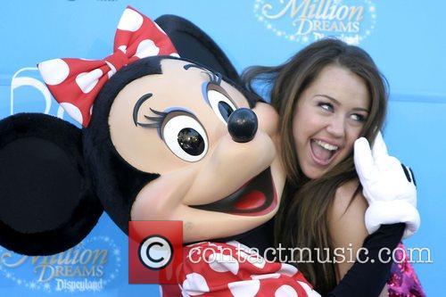 Minnie Mouse and Miley Cyrus