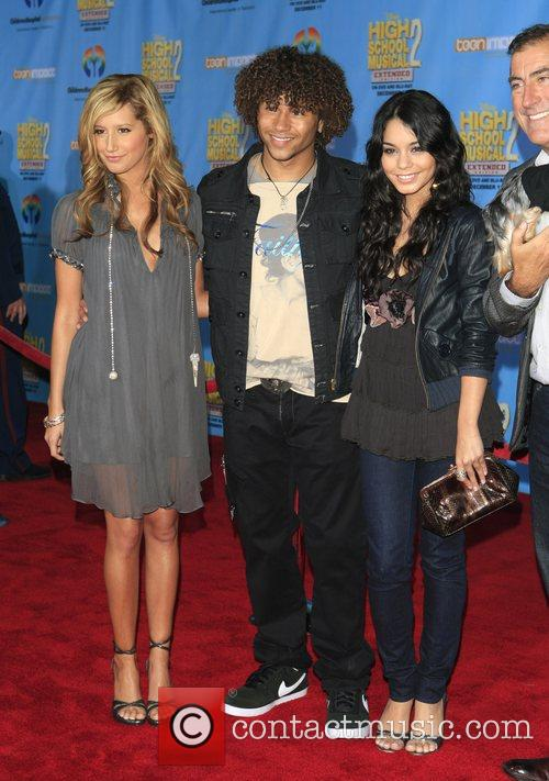 Ashley Tisdale, Corbin Bleu and Vanessa Hudgens Screening...