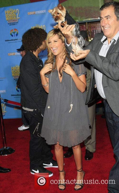 Ashley Tisdale Screening of the DVD 'High School...