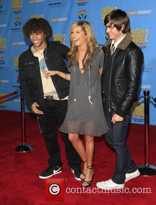 Corbin Bleu, Ashley Tisdale and Zac Efron Screening...