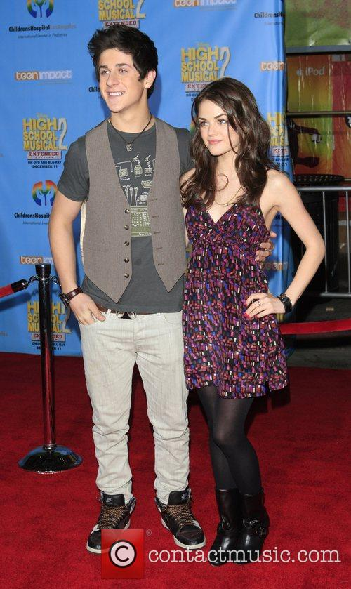 David Henry and Lucy Hale Screening of the...