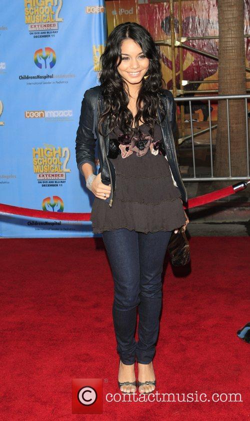 Vanessa Hudgens Screening of the DVD 'High School...