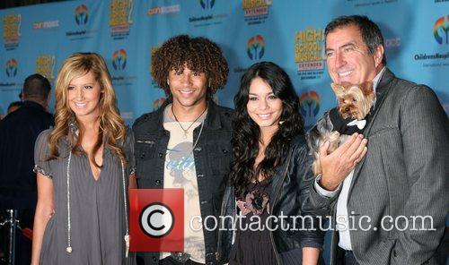 Ashley Tisdale, Corbin Bleu, Vanessa Hudgens and Kenny...