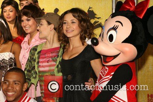 Olesya Rulin and guest Gala of Disney's High...