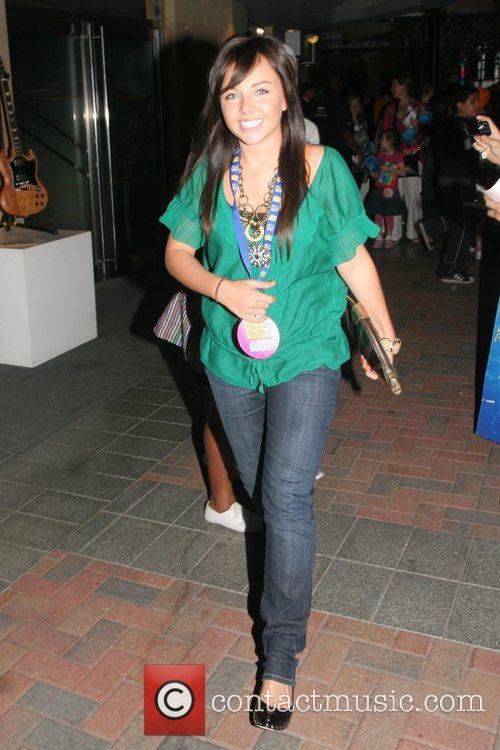 Louisa Lyton High School Musical 2 - premiere...