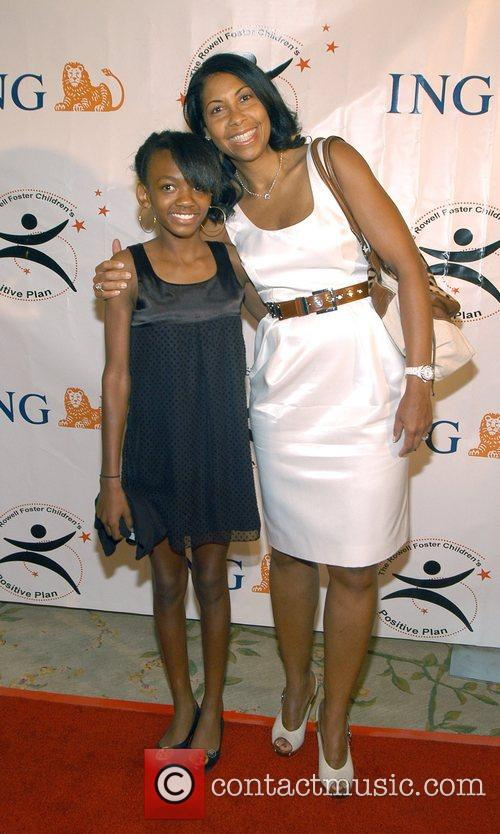 Cookie Johnson and daughter High Tea At Noon...