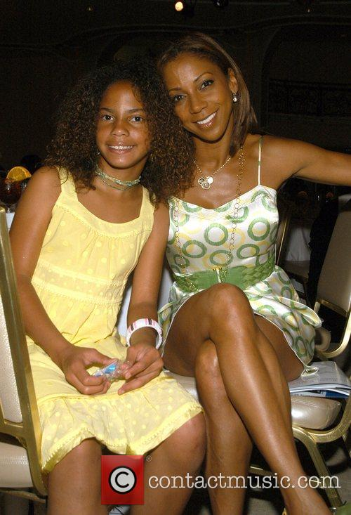 Holly Robinson-Peete and daughter High Tea At Noon...