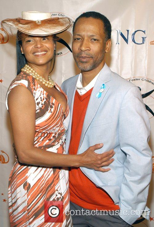 Victoria Rowell and Radcliffe Bailey High Tea At...