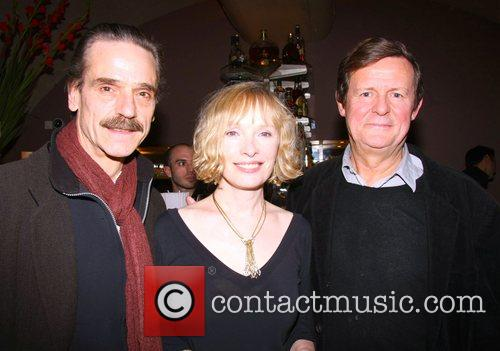 Jeremy Irons, Lindsay Duncan and Sir David Hare...