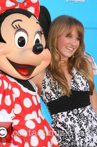 Miinie Mouse and Emily Osment Disney's 'High School...