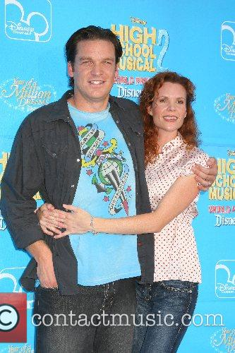 Bart Johnson and Robyn Lively Disney's 'High School...