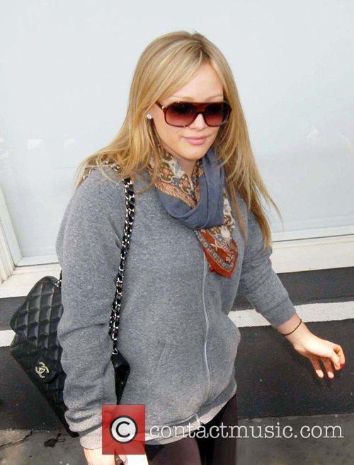 Hilary Duff  Shopping on Robertson Boulevard among...