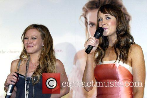 Hilary Duff and Lizzie Lovett 2