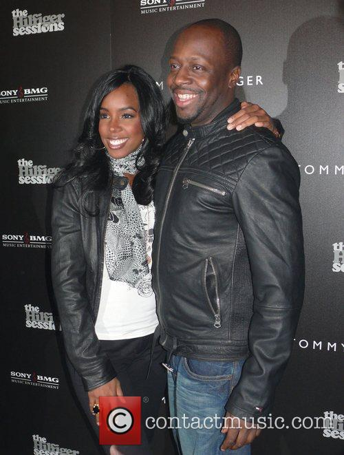 Kelly Rowland, Wyclef Jean Premiere of The Hilfiger...