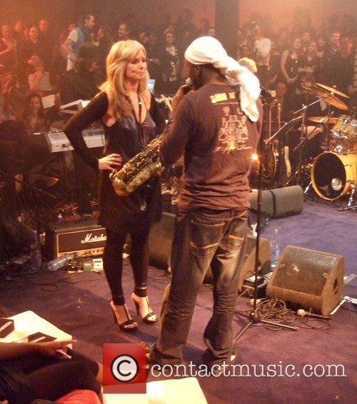 Wyclef Jean, Candy Dulfer Premiere of The Hilfiger...