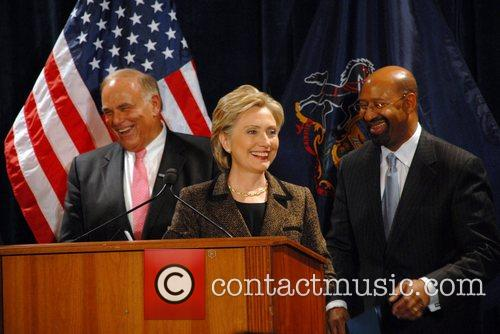 Ed Rendell and Hillary Clinton 3