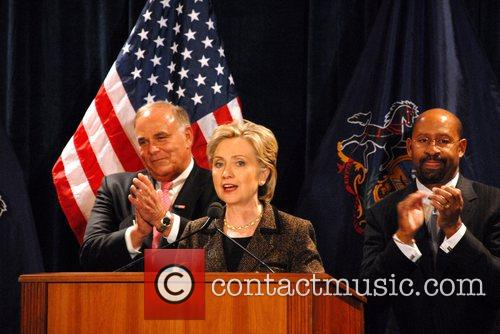 Ed Rendell and Hillary Clinton 5