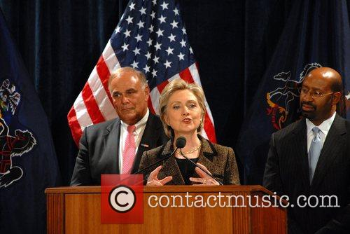 Ed Rendell and Hillary Clinton 1