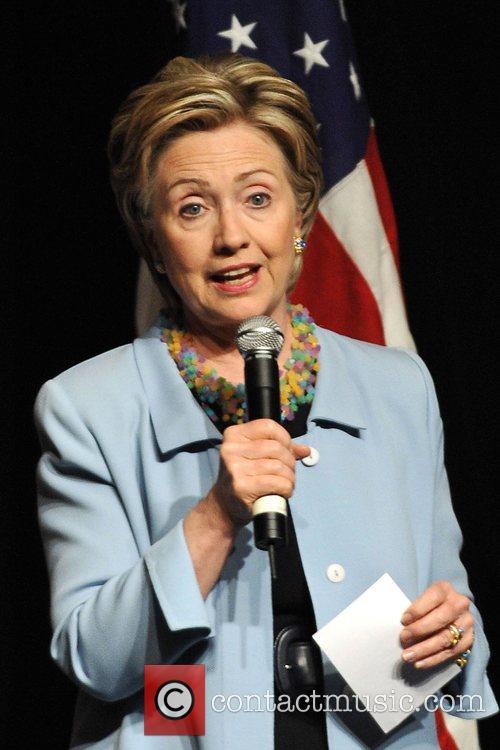 Democratic presidential hopeful U.S. Senator Hillary Clinton (D-NY)...