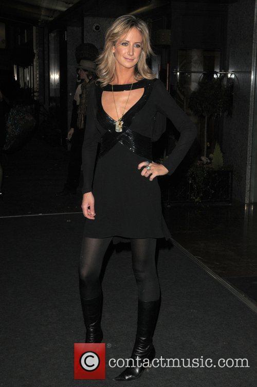 Lady Victoria Hervey London Fashion Week Autumn/Winter 2008...