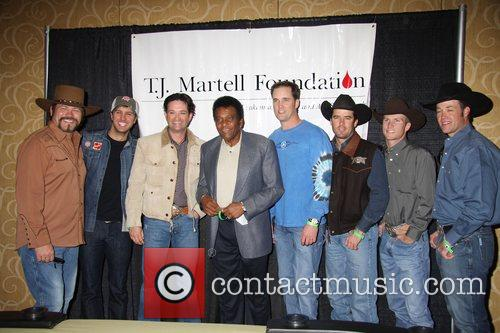 Buddy Jewell, Charley Pride and Justin Mcbride