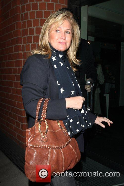 Kathy Richards-hilton Leaving Mr Chow In Beverly Hills 3