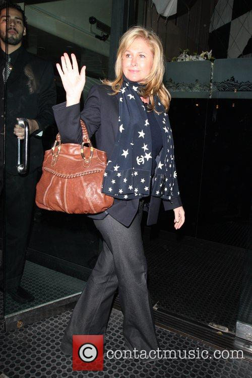 Kathy Richards-hilton Leaving Mr Chow In Beverly Hills 5