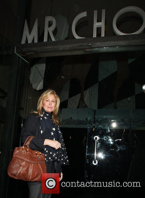 Kathy Richards-hilton Leaving Mr Chow In Beverly Hills 4
