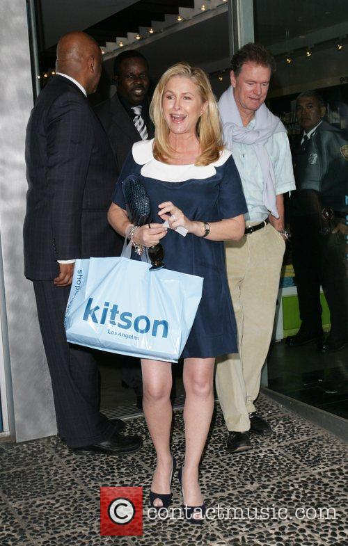 Leaving Kitson to help support their daughter, Paris...