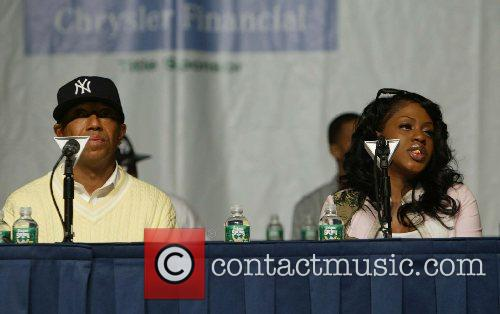 Russell Simmons and Lil Mo 2