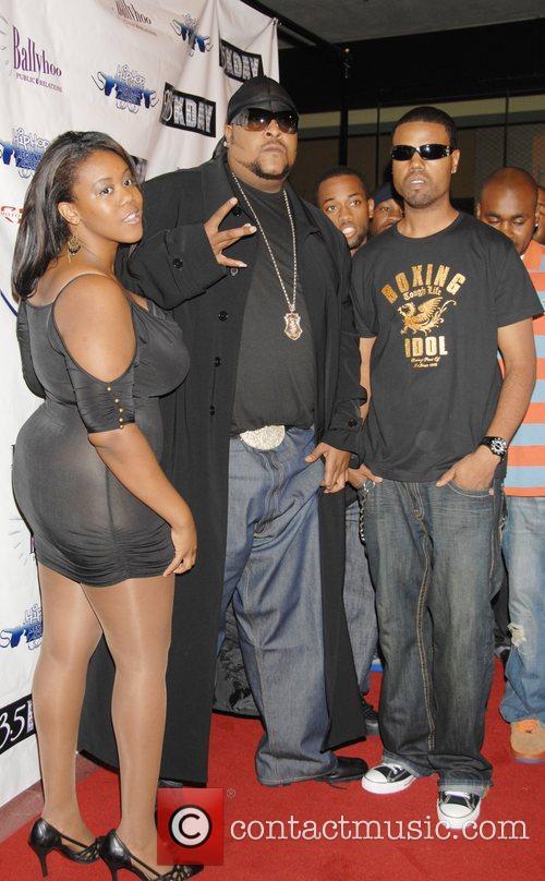 Jelly Bean (center) 1st Annual Hip Hop Regional...