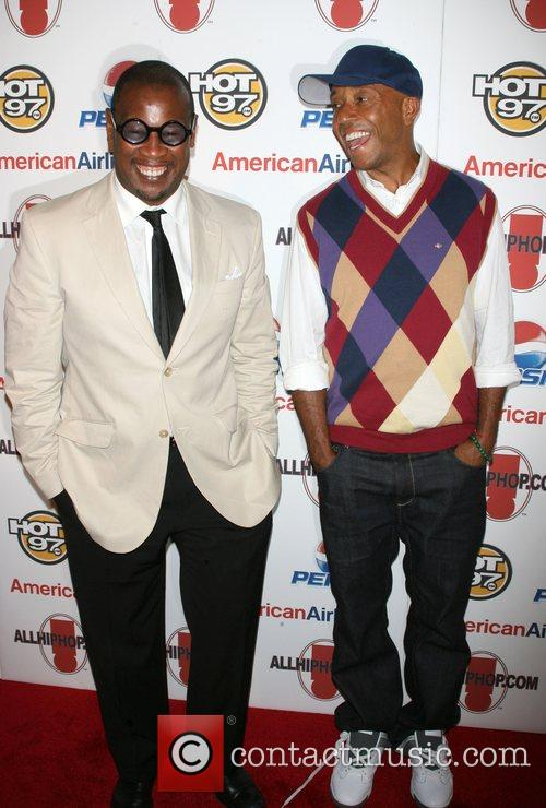 Andre Herrell and Russell Simmons All Hip Hop...