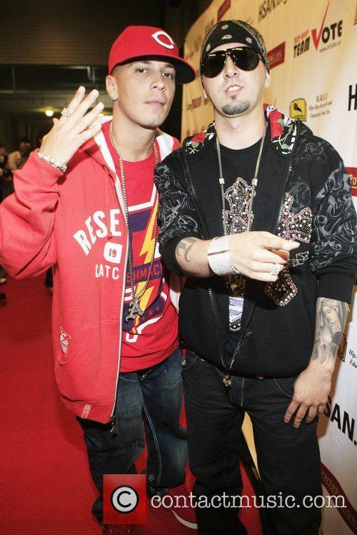 Hip hop stars Alexis and Fido National Hip-Hop...