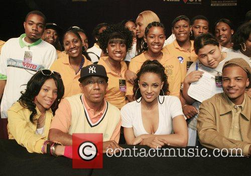 Lil' Mama and Russell Simmons 1