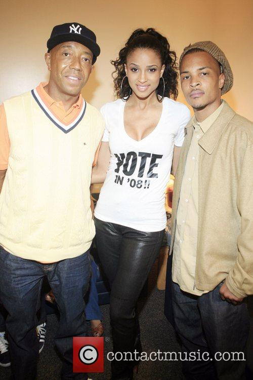 Russell Simmons, Ciara and T.i. 6