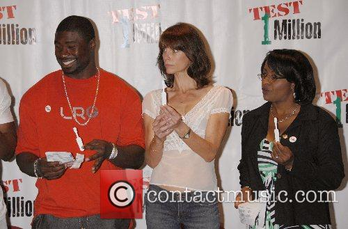 Celebrities promoting HIV testing in the black community...
