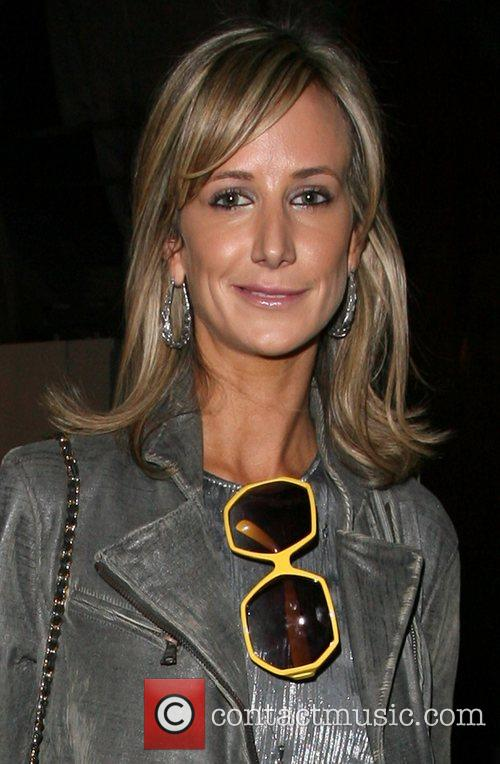 Lady Victoria Hervey leaving the launch party for...