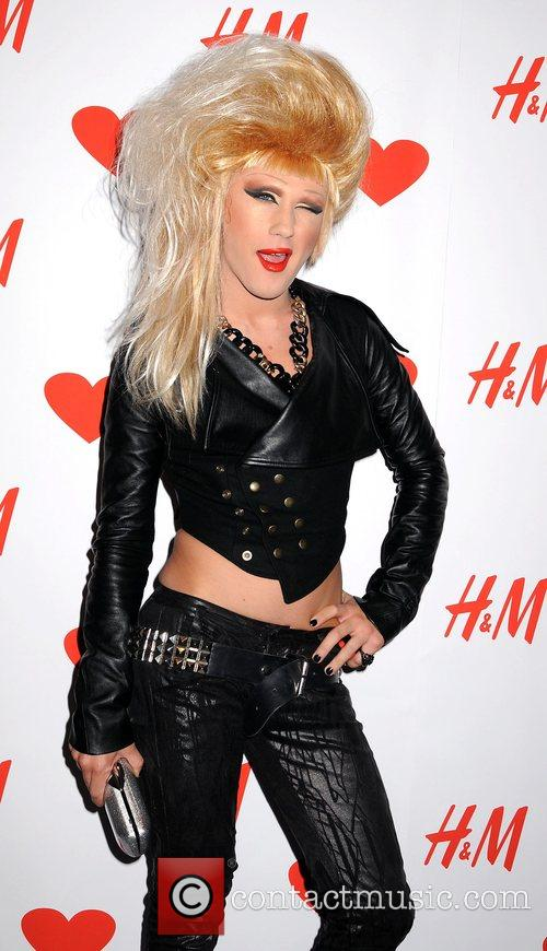Launch party for the new H&M store on...