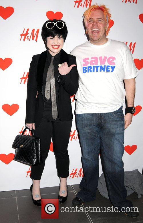 Kelly Osbourne and Perez Hilton launch party for...