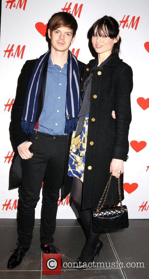 Sophie Ellis Bexter and Richard Jones launch party...