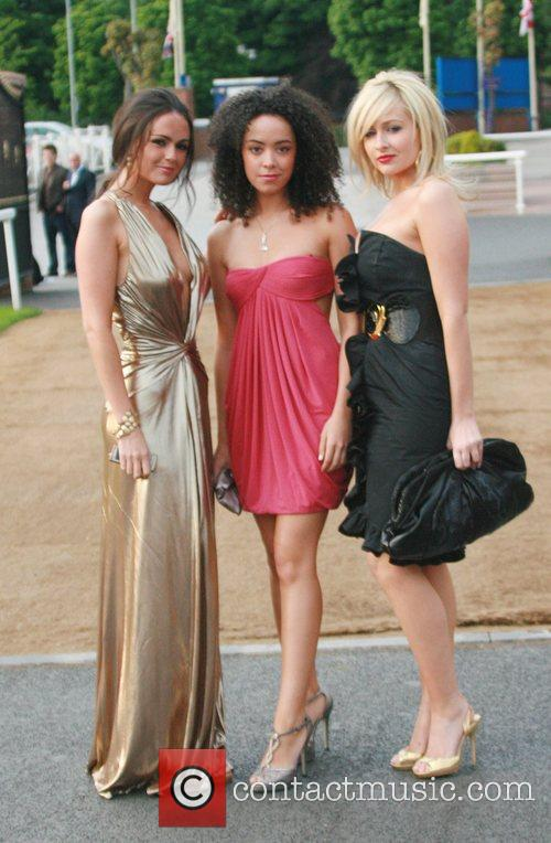 Jennifer Metcalfe, Gemma Merna, Leah Hackett The Hollyoaks...