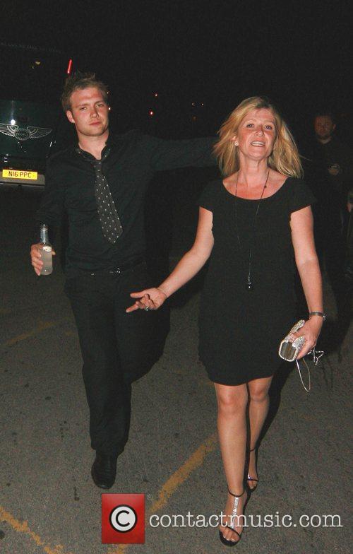 Chris Fountain with his mum Lynda Fountain The...