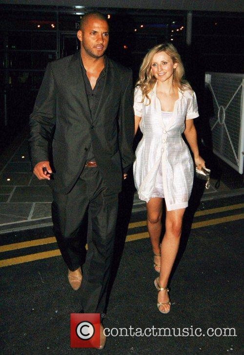 Ricky Whittle, Carley Stenson The Hollyoaks Charity Ball...