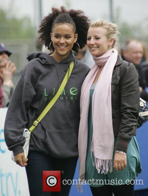 Nathalie Emmanuel and Hollyoaks 2