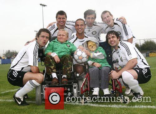 From left, Ben Freeman, Player, Glen Lamont, Player,...