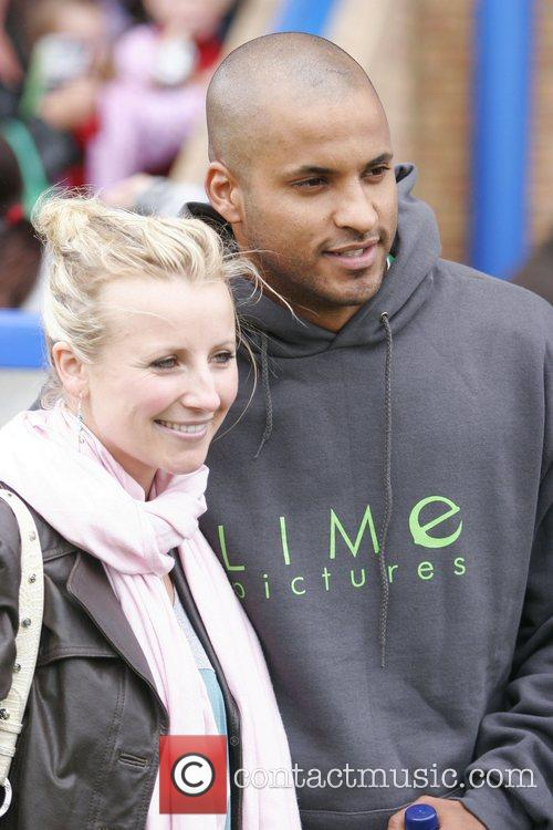 Ricky Whittle and Carley Stenson Soapstars from Hollyoaks...
